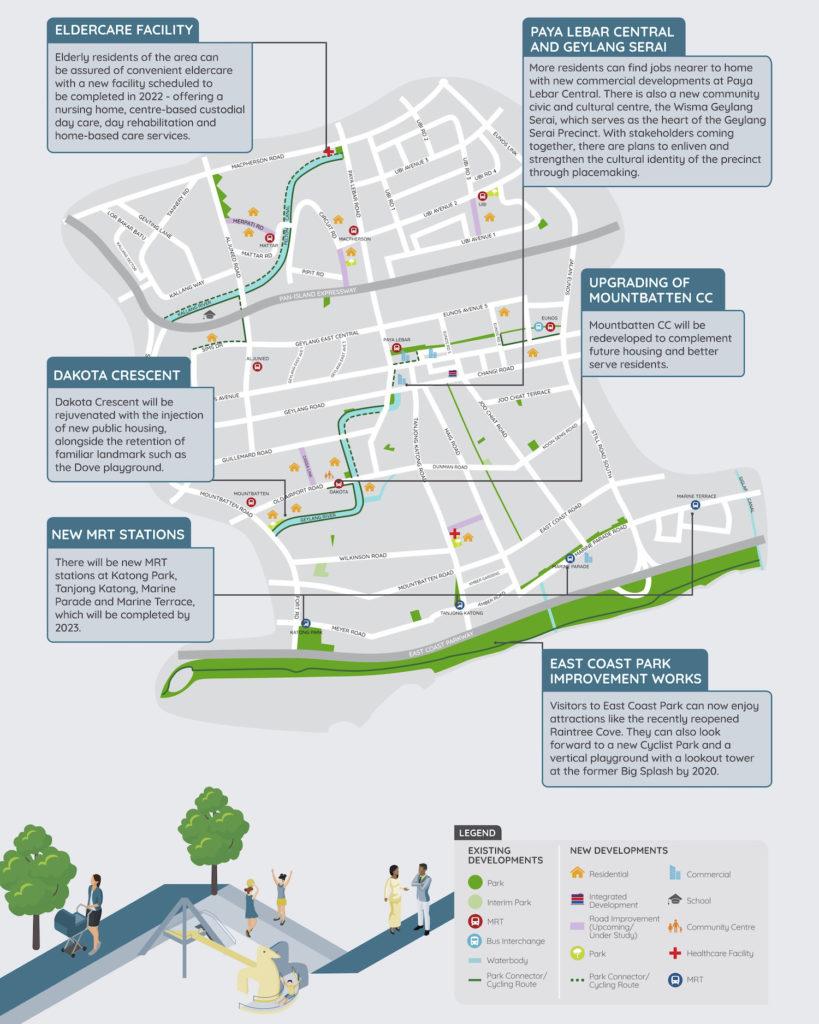 Amber Park - Geylang & Marine Parade URA Master Plan