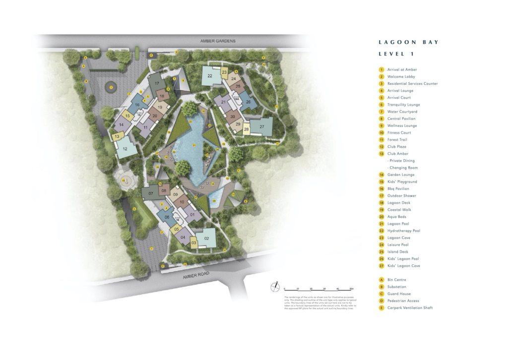 Amber Park Site Plan 1 Singapore