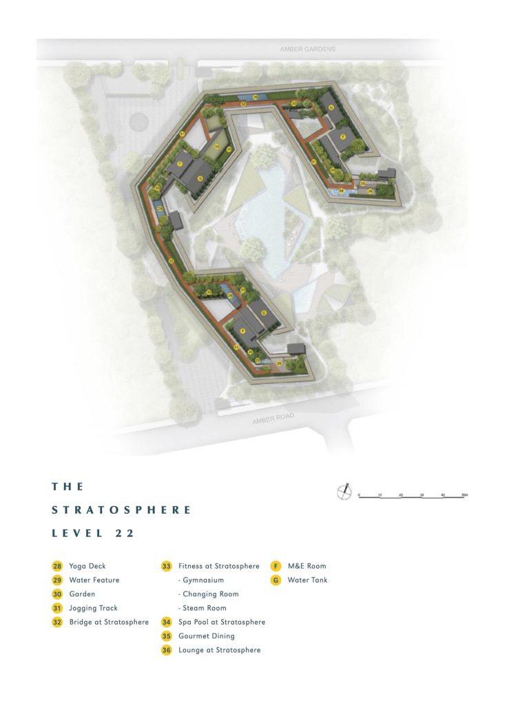 Amber Park Site Plan 2 Singapore