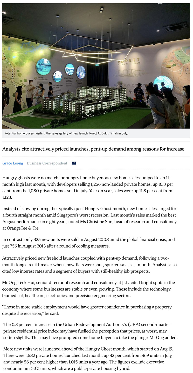 Amber Park - New home sales surge to 11-month high in August 1